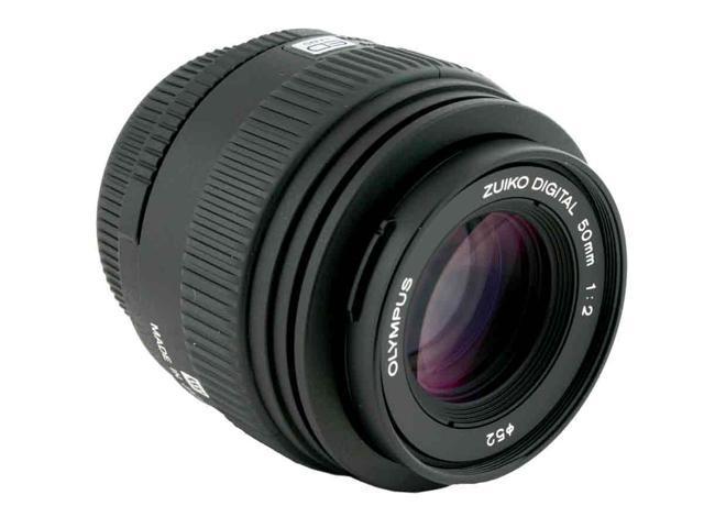 OLYMPUS 50mm F/2.0 MACRO Macro ED Zuiko Digital Lens Black