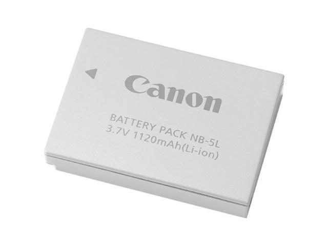 Canon NB-5L 1120mAh 3.7V Li-Ion Rechargeable Battery Pack