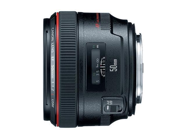 Canon EF 50mm f / 1.2L USM Standard Lens