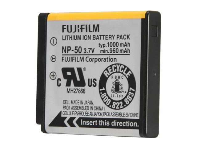 FUJIFILM NP-50 1-Pack 1000mAh Li-Ion Rechargeable Battery