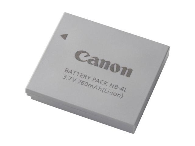 Canon NB-4L 760mAh 3.7V Li-Ion Battery