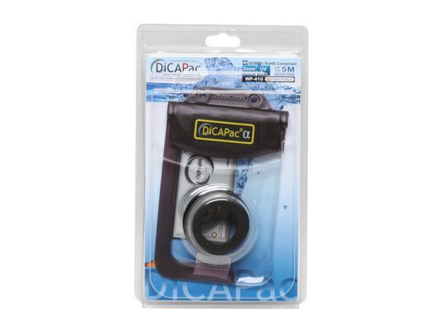 DiCAPac WP-410 Black 100% Waterproof case For Compact Digital Cameras