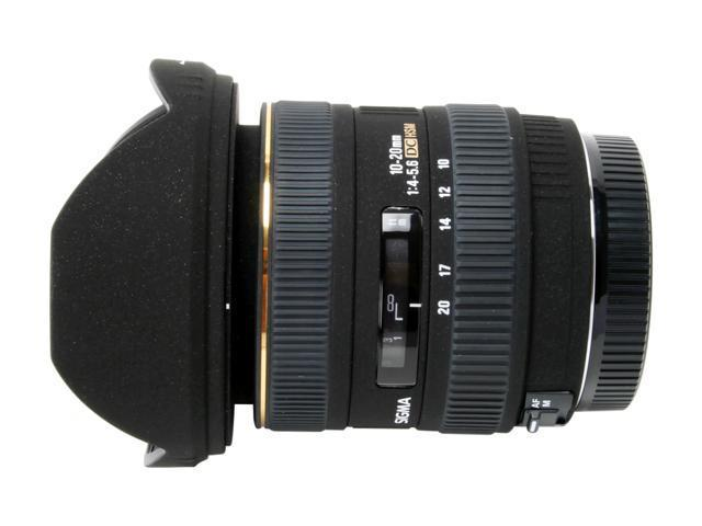 SIGMA 10-20mm F4-5.6 EX DC Wide Angle Zoom HSM Lens For Canon