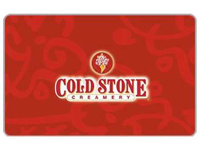 Cold Stone Creamery $50 Gift Card (Email Delivery)