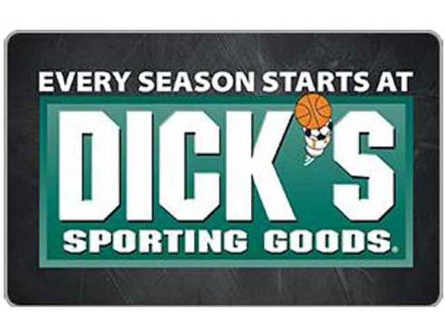 Dicks Sporting Good $25 Gift Card (Email Delivery) - Newegg.com