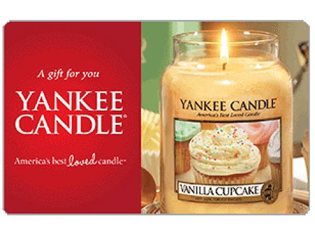 Yankee Candles $50 Gift Card (Email Delivery)