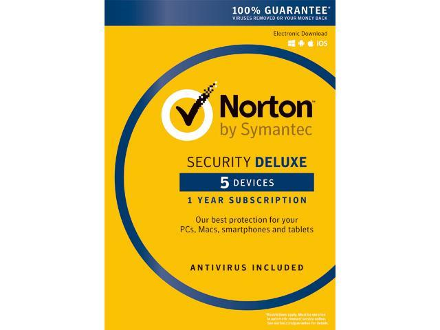 Norton Security Standard is a good choice for those that need the protection for one device only. The protected device can be any of your PCs, Mac computers, iOS or Android devices. Norton Security Deluxe provides protection for 5 devices, so it is a good choice for protecting any of .