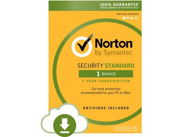 Symantec Norton Security Standard - 1 Device - Download (Attach Only)