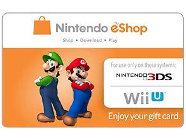 Nintendo eShop $10 Gift Cards - (Email Delivery) - Newegg.com