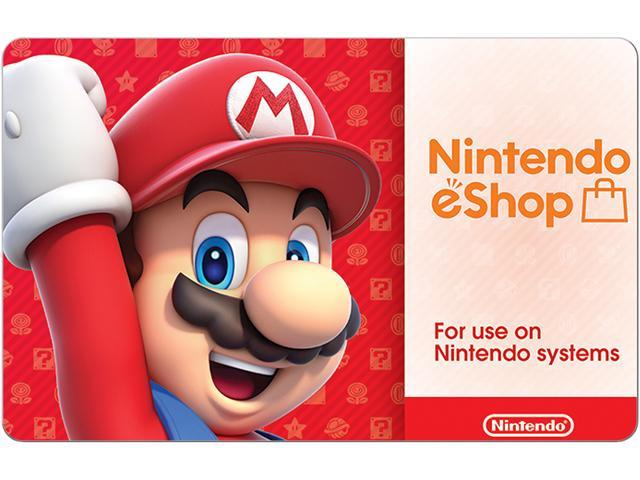 Nintendo EShop Gift Cards Email Delivery Neweggcom - Free blank invoice template nintendo online store