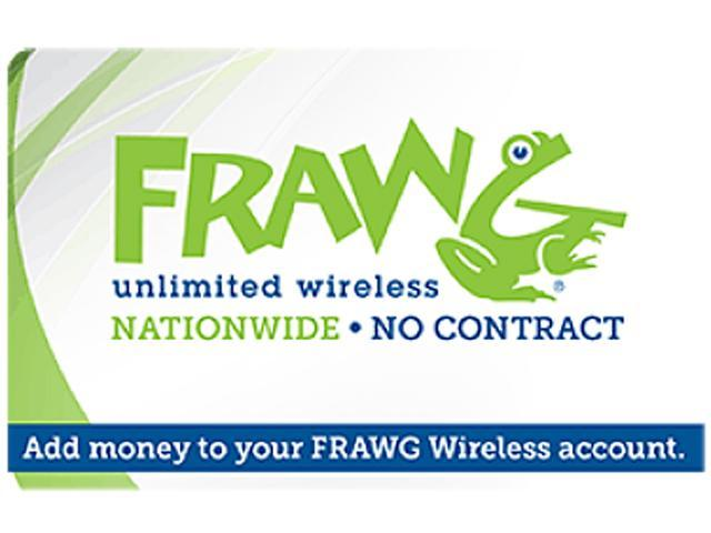 nTelos Frawg Wireless $35 Refill Card (Email Delivery)