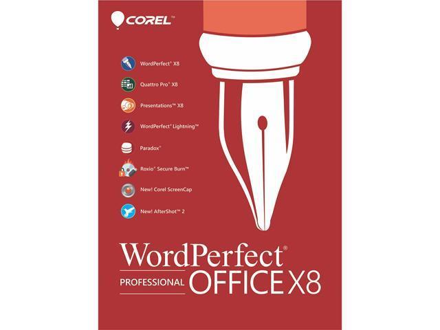Corel WordPerfect Office X8 - Professional Edition