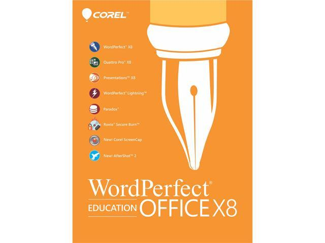Corel WordPerfect Office X8 - Education Edition