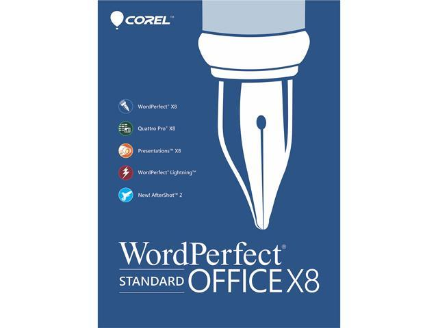 Corel WordPerfect Office X8 - Standard Edition