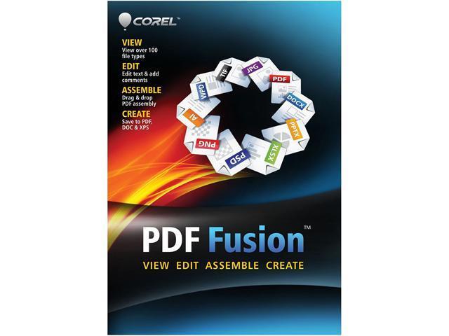 1 Year - Corel PDF Fusion Version 1.0 - Academic - 1 User