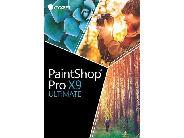 Corel PaintShop Pro X9 Ultimate - Download