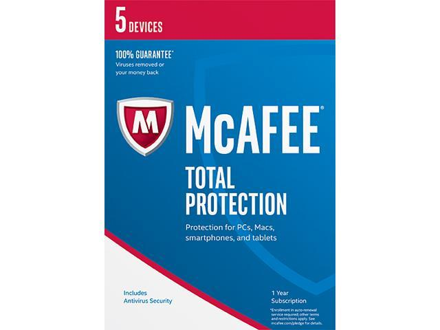 Mcafee total protection 2017 retail mirror 98