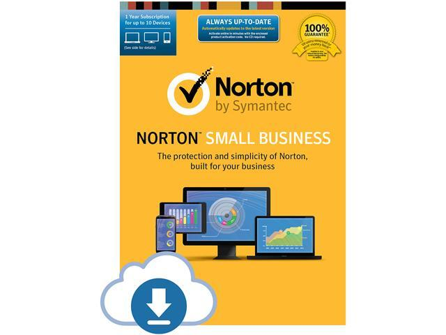 Symantec Norton Small Business - 1 Year 10 Devices Download
