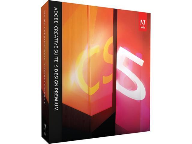 Adobe Design Premium CS5 Upgrade From CS4 For Windows