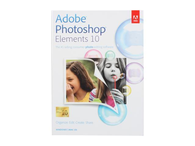 Adobe Photoshop Elements 10 for Windows & Mac - Full Version