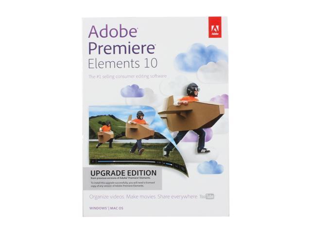 Adobe Premiere Elements 10 Upgrade