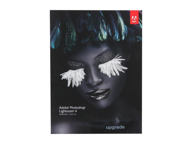 Adobe Photoshop Lightroom 4 for Windows & Mac - Upgrade Version