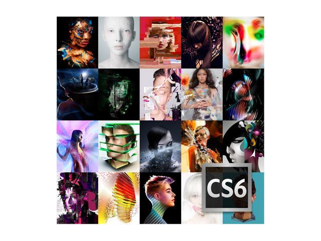Adobe CS6 Master Collection 6 for Windows - Full Version [Legacy Version]