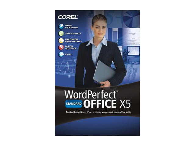 Cost of WordPerfect Office X5 Standard Software