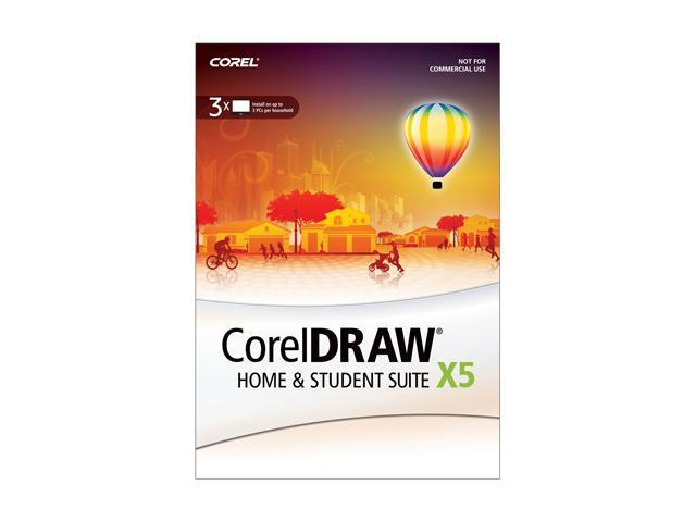 Corel CorelDRAW Home and Student Suite X5