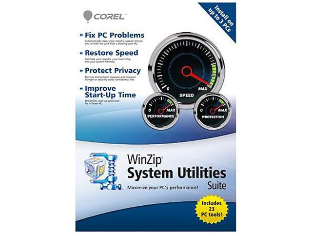 Corel Winzip System Utilities – 3 User