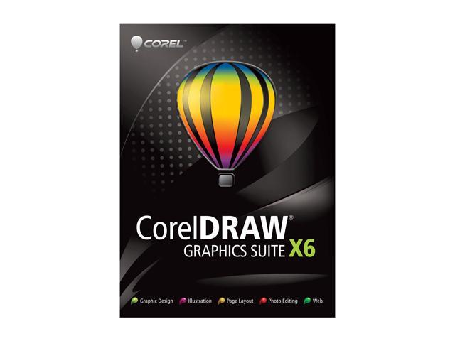 Corel CorelDRAW Graphic Suite X6 Upgrade