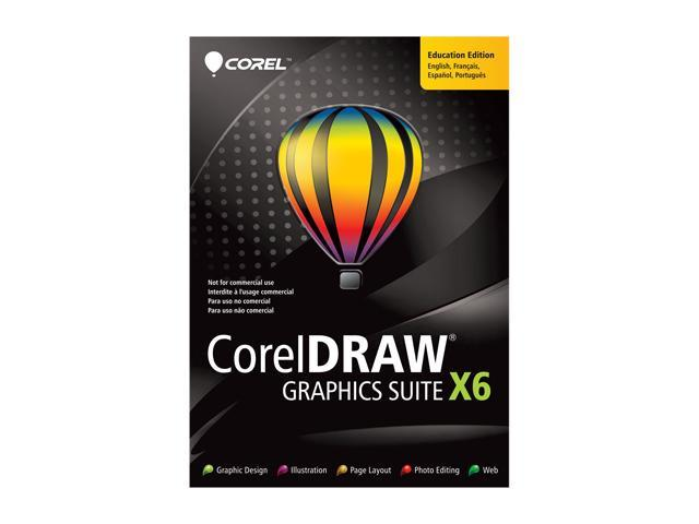 Corel CorelDRAW Graphic Suite X6 - Academic Version