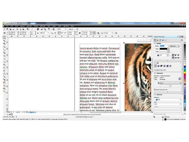 Corel CorelDRAW Graphics Suite X6 - Download