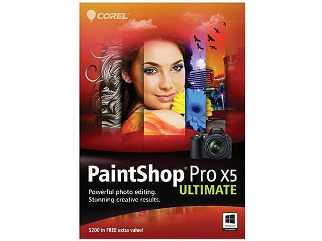 Corel PaintShop Pro X5 Ultimate - Download