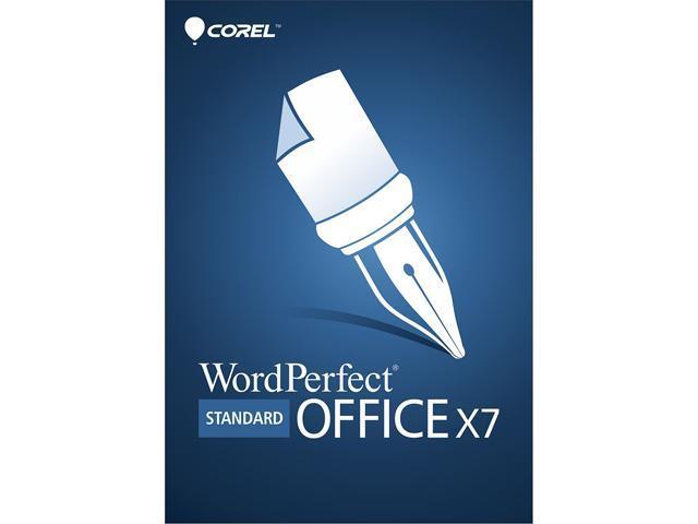 Corel WordPerfect Office X7 Standard Upgrade