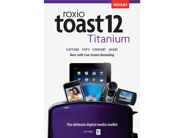 Corel Roxio Toast 12 Titanium - Download