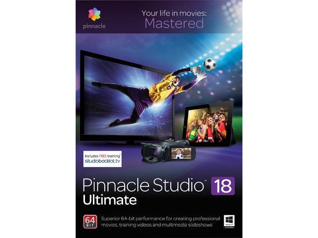 Corel Pinnacle Studio 18 Ultimate - Download