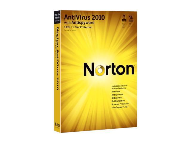 Symantec Norton AntiVirus 2010 3 user