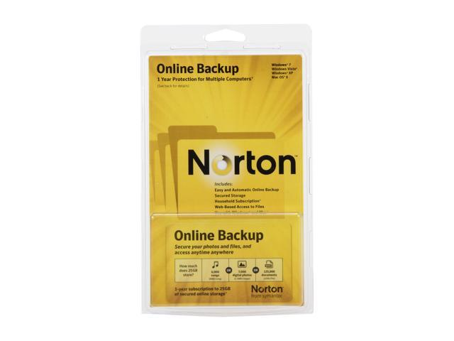 Symantec Norton Online Backup - 25GB