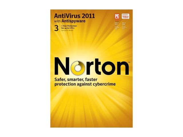 Symantec Norton Antivirus 2011 - 3 User