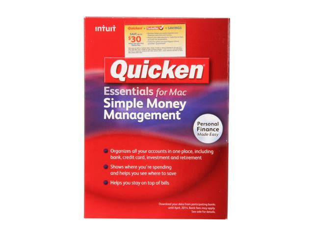 Intuit Quicken Essentials for Mac