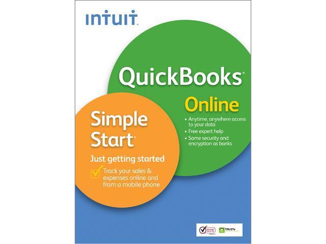Intuit QuickBooks Online Simple Start
