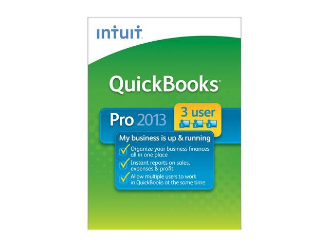 Intuit Quickbooks Pro 2013 - 3 User