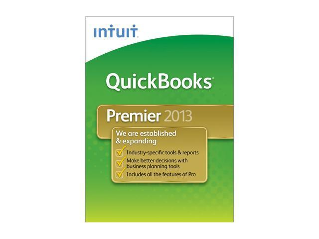 Intuit Quickbooks Premier 2013