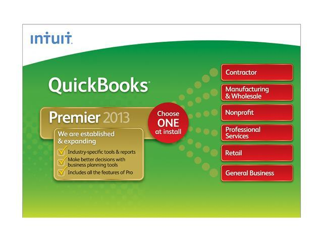 Intuit Quickbooks Premier Industry Edition 2013