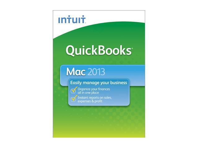 Intuit Quickbooks 2013 for Mac