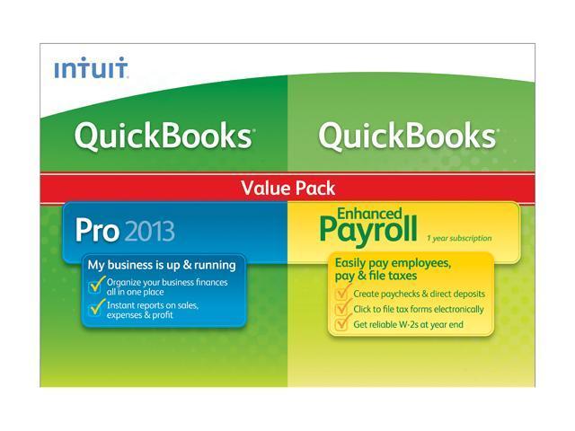 Intuit QuickBooks Pro w/ Enhanced Payroll 2013