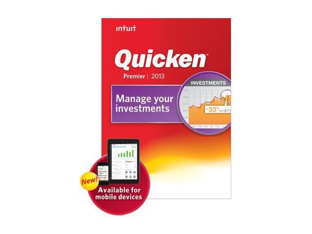 Intuit Quicken Premier 2013