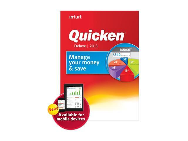 Intuit Quicken Deluxe 2013