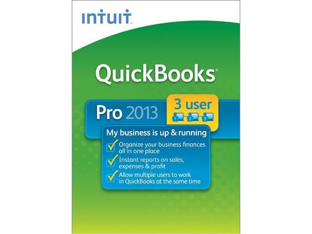 Intuit QuickBooks Pro 2013 3 User - Download